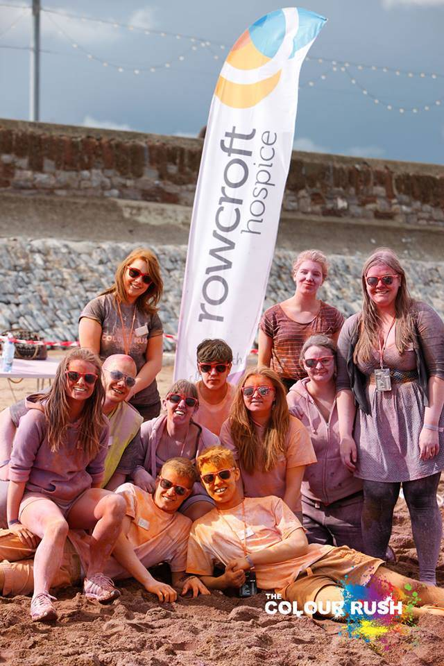 Riviera Wellbeing will be at ColourRush Paignton